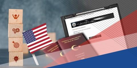 Amerika E1 Ticaretçi Vizesi - Amerika E2 Yatırımcı Vizesi
